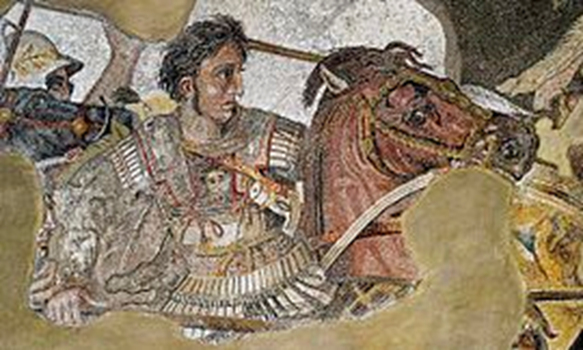 """Disease and Death of Alexander the Great"" lecture announcement"
