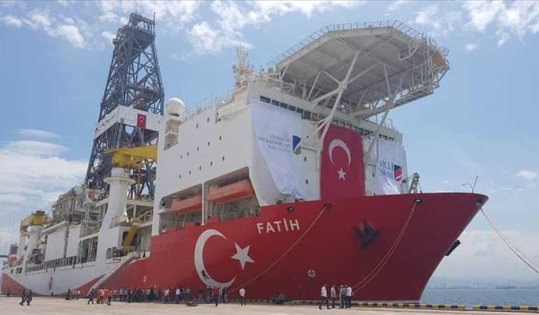 Turkey violating Cyprus' EEZ