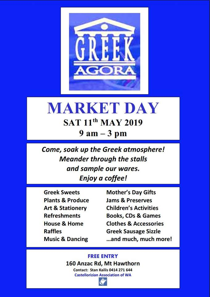 Greek Agora Market Day