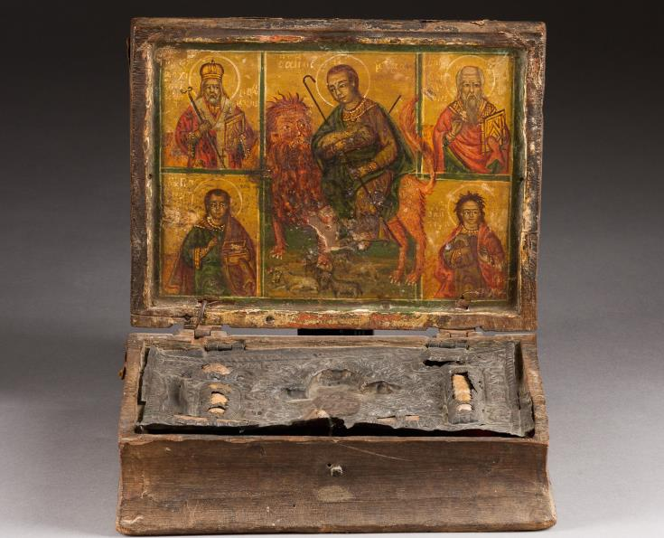 St. Mamas casket, saved from auction, to be handed over on May 14 to its rightful owner, the Metropolis of Morphou