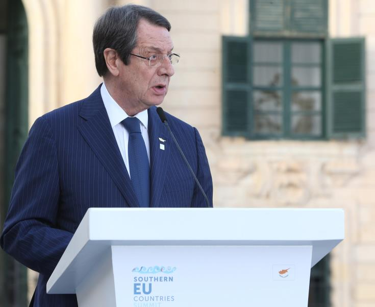 President optimistic that EU will send stronger messages to Turkey on provocations in Cyprus' EEZ
